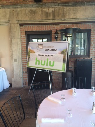 Hulu TDGolf 2015 Brunch Sponsorship
