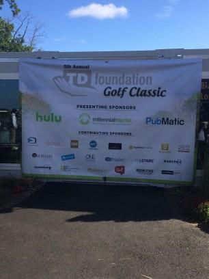 TD Golf 2015 Sponsors Banner